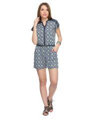 TARAMA Geometric Print Multicolor color Jumpsuit for womens. TDP980