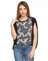 TARAMA Floral Print Top for womens. TDT926