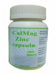 Hawaiian Herbal Cal Mag Zinc Capsule