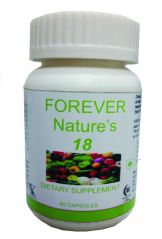 Hawaiian Herbal Forever Natures 18 Capsule