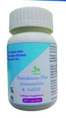 Hawaiian Herbal Nattokinase Plus Astaxanthin & Coq10 Capsule