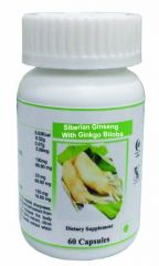 Hawaiian Herbal Siberian Ginseng And Ginkgo Biloba Capsule