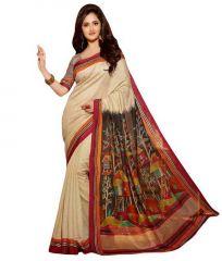 Vellora Multi Colour Designer Bhagalpuri Printed Saree_gfs1698vegf