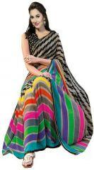 Shubahm Multy Color Designer Bhagalpuri Silk Saree - Sc_saree013