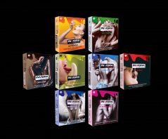 Condoms - Invigra Condoms-Cocktail Pack
