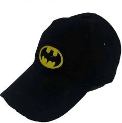 Black Batman Supper Premium Solid Snapback Cap