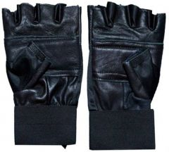 Stylish/Lifestyle/Quality/ Black Protective Men's Gloves