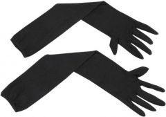 Cotton Arm Sleeve For Men & Women  (M, Black)