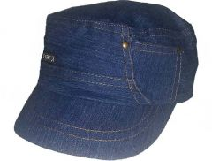 Desing Snapback cotton  Bule  Cap