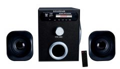 Speakers, Sub Woofers - Krisons 2.1 with Bluetooth, FM, USB & AUX