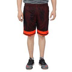 Shorts (Men's) - NNN Men's Black Knee Length Dry Fit Shorts(Product Code - A8CW71)