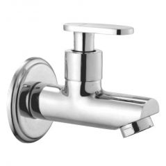 OLEANNA METRO BRASS BIB COCK SILVER Taps & Faucets