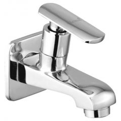 OLEANNA SPEED BRASS BIB COCK SILVER Taps & Faucets