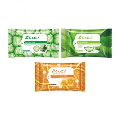 PACK OF 3 ZUCI ASSORTED WET WIPES