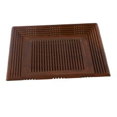 Wooden Fruit Serving Tray Square With Fine Jali Work
