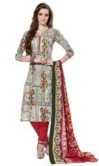 PADMiNi Unstitched Printed Cotton Dress Material (Product Code - DTSJNARGIS3003)