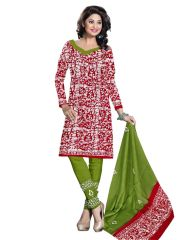 PADMiNi Unstitched Printed Cotton Dress Material (Product Code - DTBJBATIKLIGHT7006)