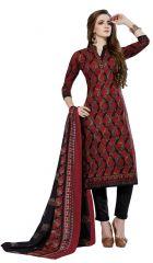 PADMiNi Unstitched Printed Cotton Dress Material (Product Code - DTSJNARGIS3007)