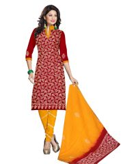 PADMiNi Unstitched Printed Cotton Dress Material (Product Code - DTBJBATIKDARK1014)