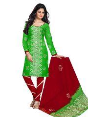 PADMiNi Unstitched Printed Cotton Dress Material (Product Code - DTBJBATIKDARK1015)