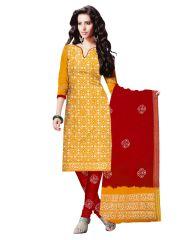 PADMiNi Unstitched Printed Cotton Dress Material (Product Code - DTBJBATIKDARK1016)