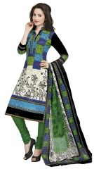 PADMiNi Unstitched Printed Cotton Dress Materials Fabrics (Product Code - DTAFROOPMILAN1101)