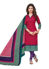 PADMiNi Unstitched Printed Cotton Dress Materials Fabrics (Product Code - DTVCKALAKRUTI1706)