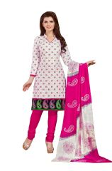 PADMiNi Unstitched Printed Cotton Dress Material (Product Code - DTSJSELFIE3005)
