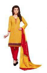 PADMiNi Unstitched Printed Cotton Dress Material (Product Code - DTSJSELFIE3008)