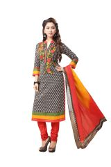 PADMiNi Unstitched Printed Cotton Dress Material (Product Code - DTAFSPL3701)