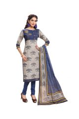 PADMiNi Unstitched Printed Cotton Dress Material (Product Code - DTAFSPL3702)