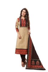 PADMiNi Unstitched Printed Cotton Dress Material (Product Code - DTAFSPL3703)