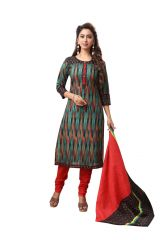 PADMiNi Unstitched Printed Cotton Dress Material (Product Code - DTAFSPL3704)