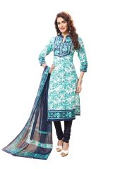 PADMiNi Unstitched Printed Cotton Dress Material (Product Code - DTAFSPL3706)