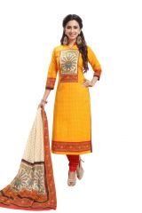PADMiNi Unstitched Printed Cotton Dress Material (Product Code - DTAFSPL3715)