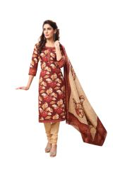 PADMiNi Unstitched Printed Cotton Dress Material (Product Code - DTAFSPL3717)