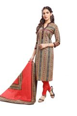 PADMiNi Unstitched Printed Cotton Dress Material (Product Code - DTAFSPL3719)