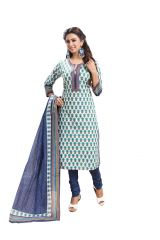 PADMiNi Unstitched Printed Cotton Dress Material (Product Code - DTAFSPL3721)
