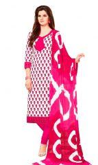 PADMiNi Unstitched Printed Cotton Dress Material (Product Code - DTSJSUHANA5002)