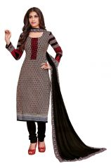 PADMiNi Unstitched Printed Cotton Dress Material (Product Code - DTKAKASHISH2508)