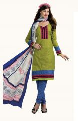 PADMiNi Unstitched Printed Cotton Dress Material (Product Code - DTBJCHITRA5090)
