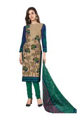 PADMiNi Unstitched Printed Cotton Dress Materials Fabrics (Product Code - DTKAPREYANSHI5154)