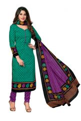 PADMiNi Unstitched Printed Cotton Dress Material (Code - DTKAPREYANSHI5174)