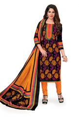 PADMiNi Unstitched Printed Cotton Dress Material (Code - DTKAPREYANSHI5175)