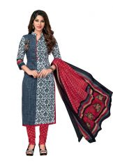 PADMiNi Unstitched Printed Cotton Dress Material (Code - DTKAPREYANSHI5184)