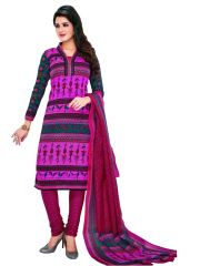 PADMiNi Unstitched Printed Cotton Dress Materials Fabrics (Product Code - DTKASPL6022)