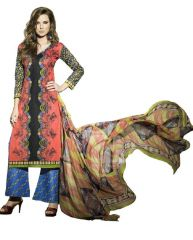 PADMiNi Unstitched Printed Cotton Dress Materials Fabrics (Product Code - DTSIYATANYA744)