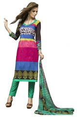 PADMiNi Unstitched Printed Cotton Dress Materials Fabrics (Product Code - DTSIYATANYA735)