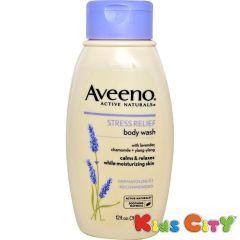 Skin Care - Aveeno Active Naturals Stress Relief Body Wash - 354ml (12oz)