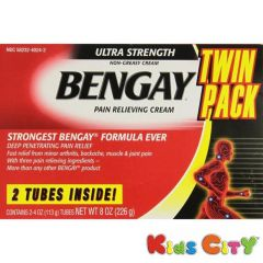Bengay Health & Fitness - Bengay Pain Relieving Cream - 113G (Pack of 2)